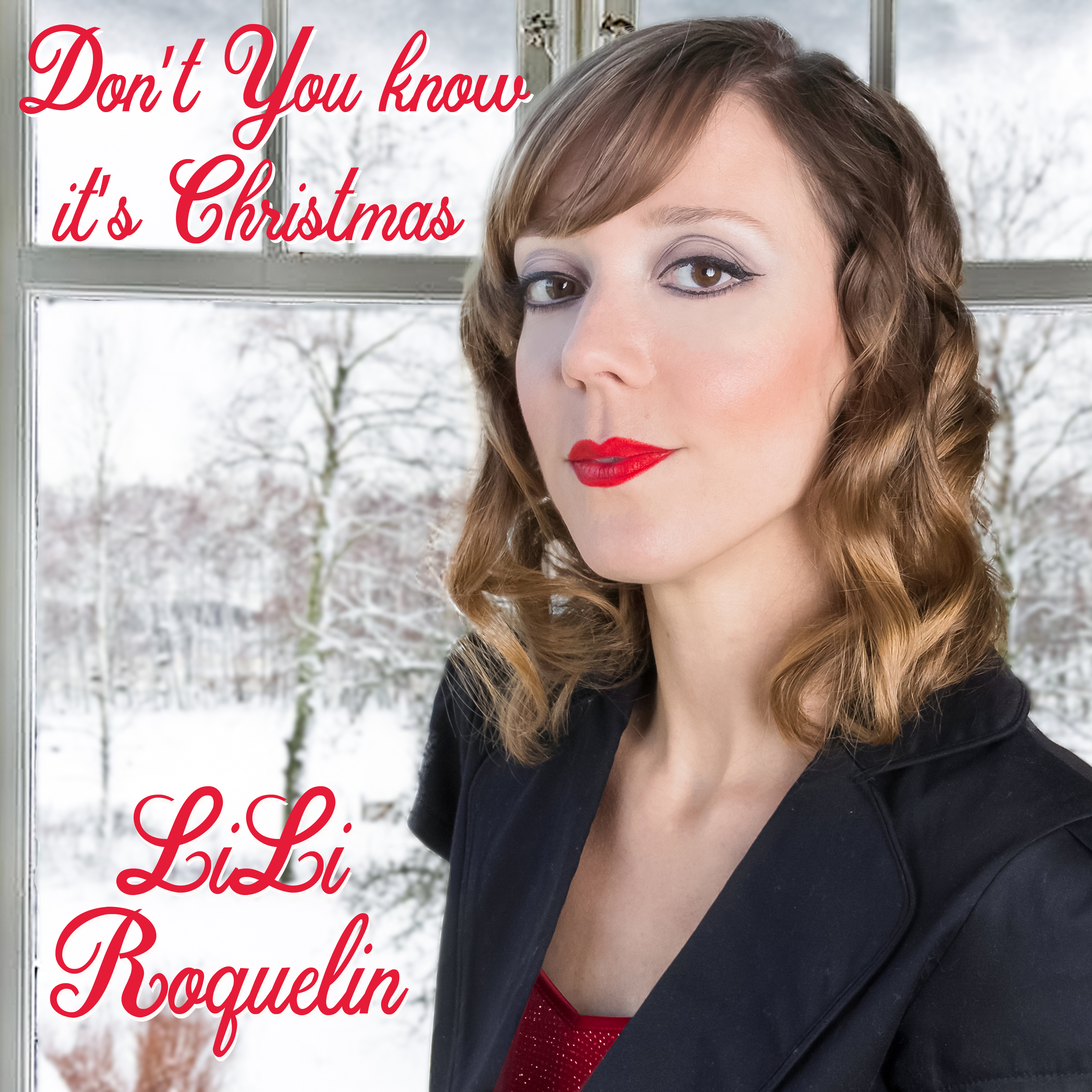 lili roquelin don't you know it's christmas cover art